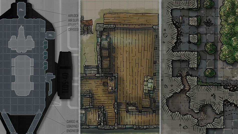 Get Immediate Access to over 200 RPG Maps on patreon!