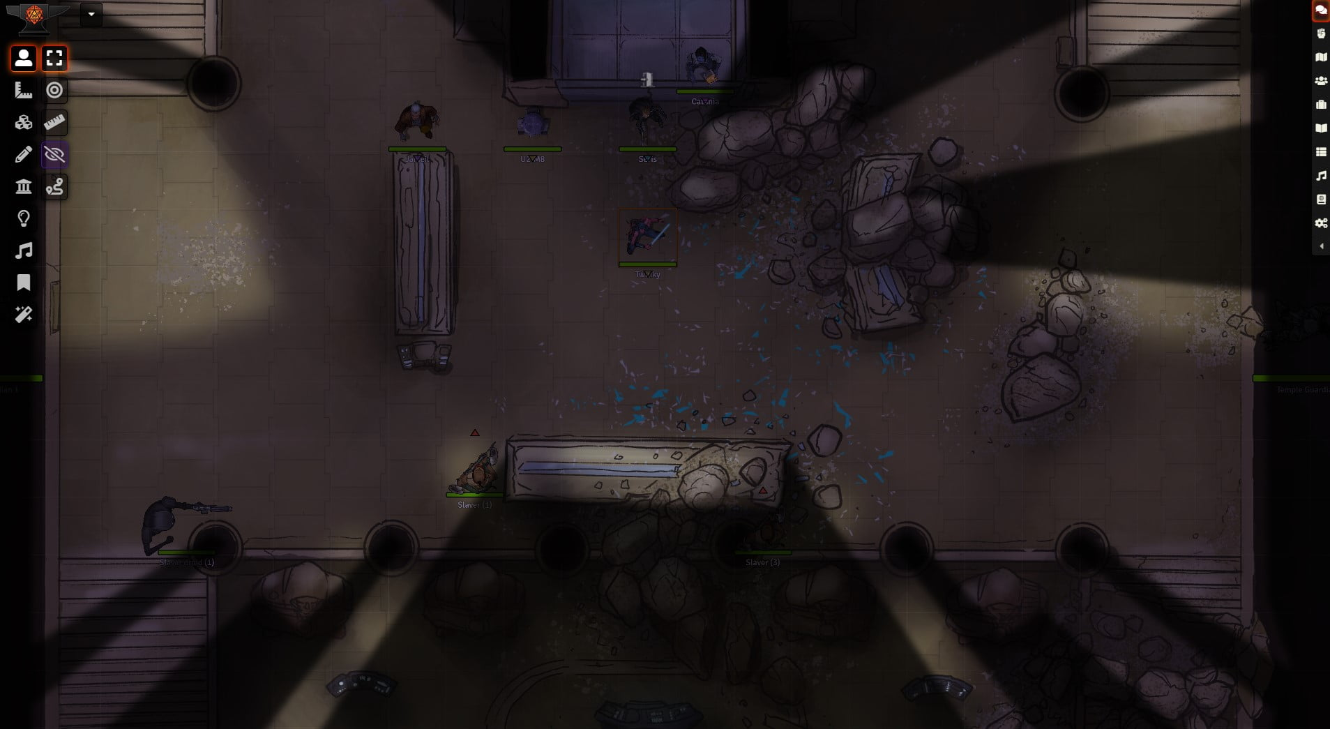Game-ready Maps for Foundry VTT