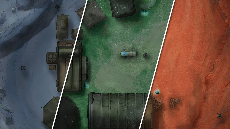 Multiple Unique High-Quality Maps With Variants Every Month
